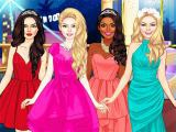 Play Glam girls dress up now