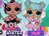 Play Baby dolls winter disco now
