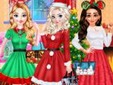 Play Princess christmas party now