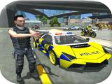 Play Police cop car simulator city missions now