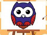 Play Magic owl coloring now
