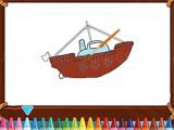 Play Big boats coloring now