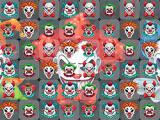 Play Terrifying clowns match 3 now