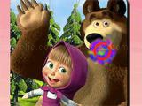 Play Masha and the bear: spot the difference now