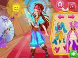 Play Pirate princess halloween dress up now
