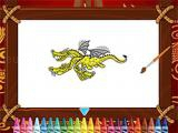 Play Chinese dragons coloring now